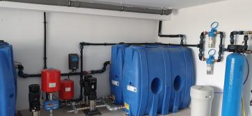 Помпена система Hydroo в частен дом